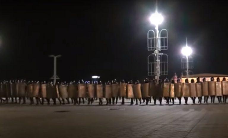 Белорусские силовики вытеснили манифестантов с улиц Минска