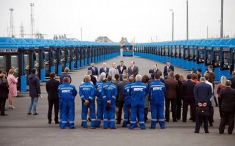 Белгород получил новые современные автобусы благодаря нацпроекту