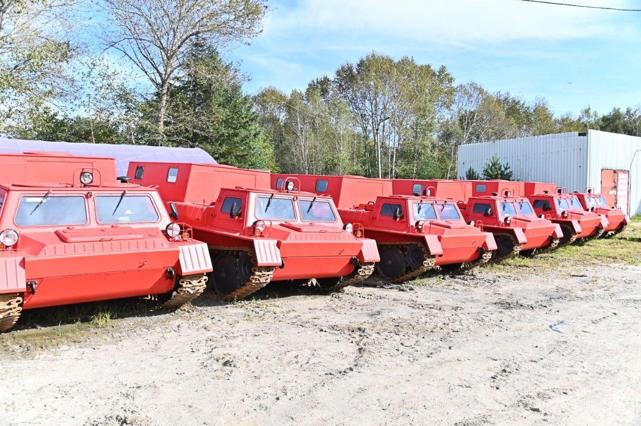 Правительство России подарило Хабаровскому краю автомобили для лесной охраны