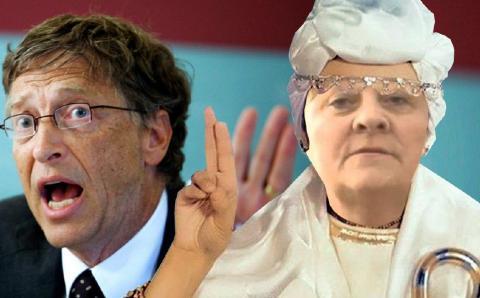 Билл Гейтс говорит о вакцине. Отечественные конспирологи исчезли…