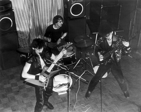 Рок-группа АЗАРТ. 1988 г. - из личного архива М.Владимирова