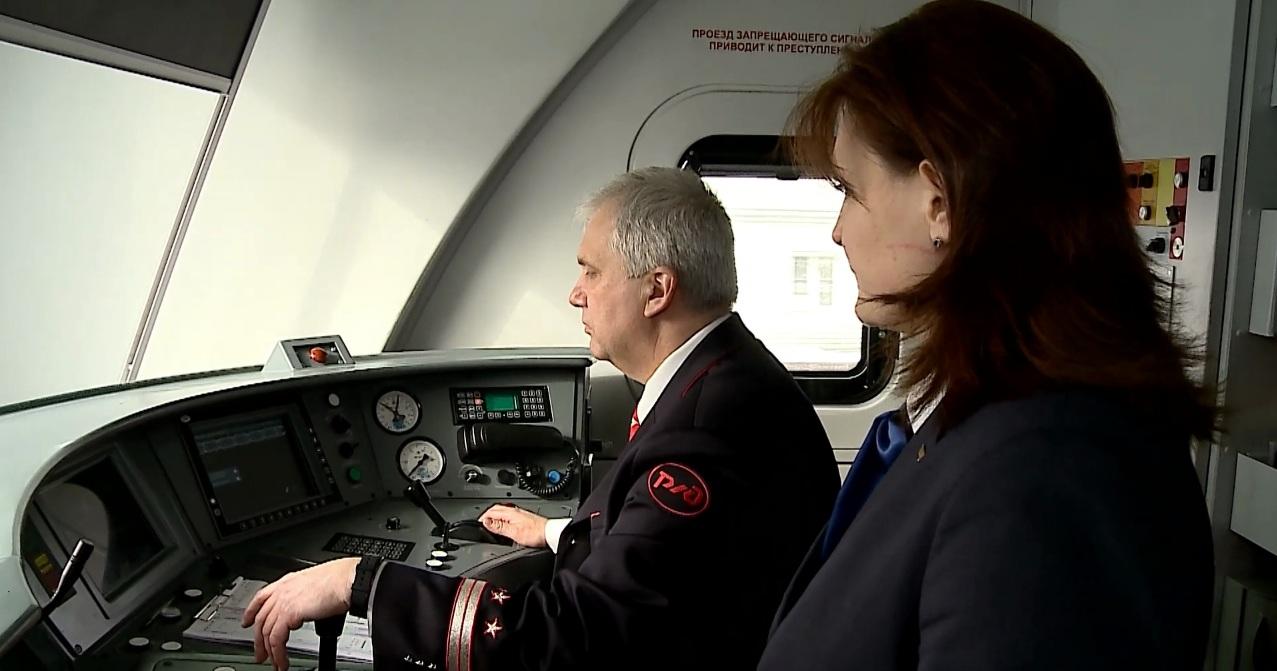 Первая женщина-помощник машиниста отправилась в рейс по МЦК