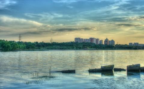 В Коломне закрыли мост через Москва-реку из-за высокого уровня воды