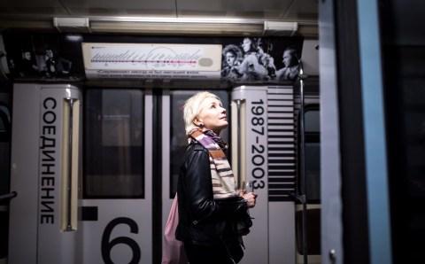 В московском метро появился поезд в честь юбилея «Современника»