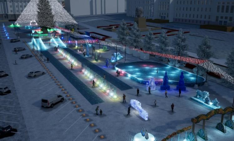 Новогодний городок Улан-Удэ в этом году посвятят Бадме и Чагдару