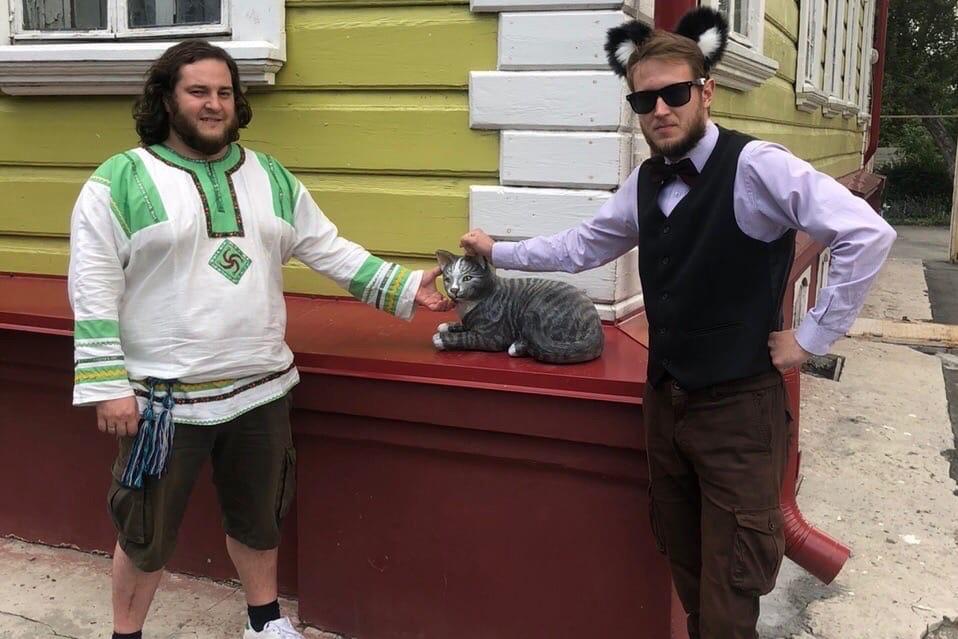 Коты встали на стражу музеев Кургана