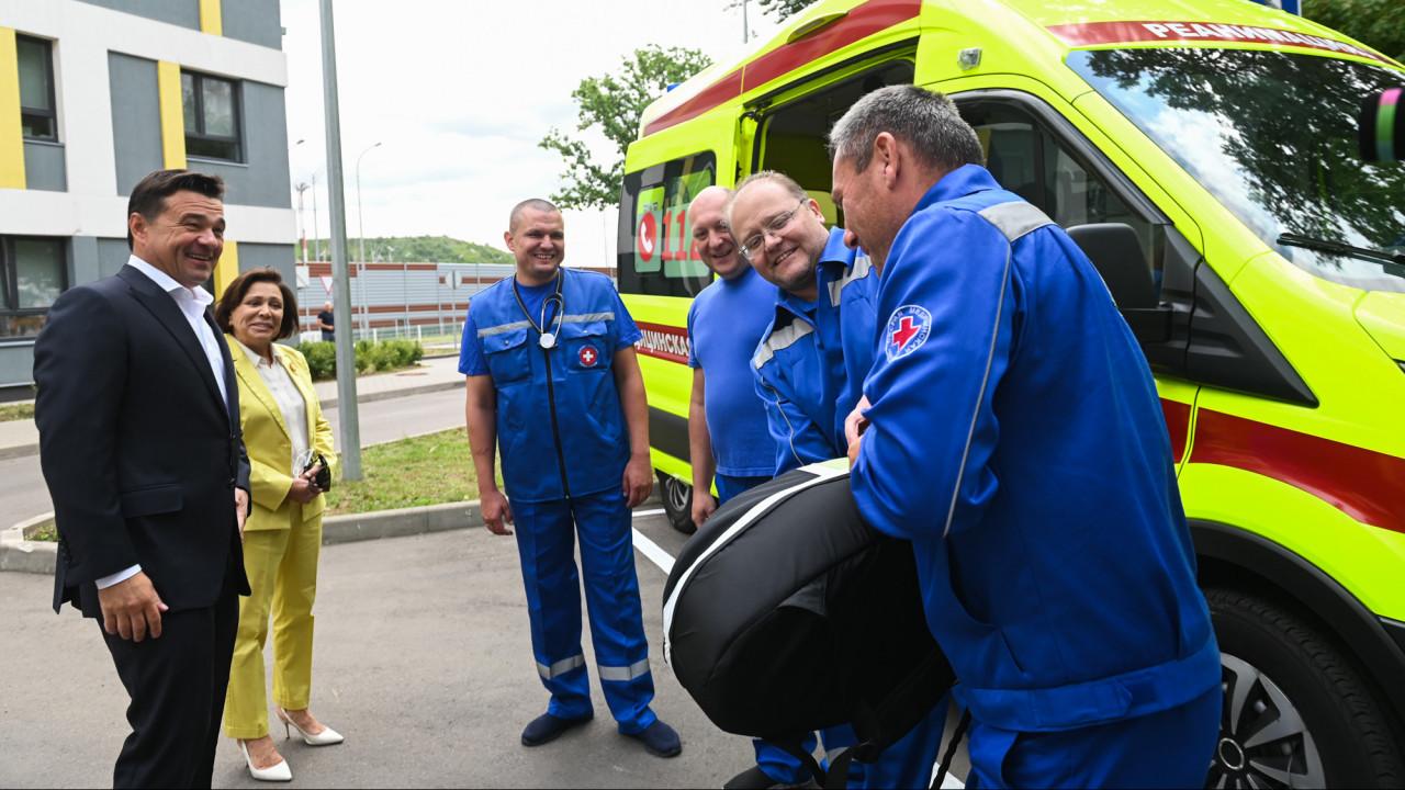 Химкинская подстанция скорой помощи получила новое оборудование