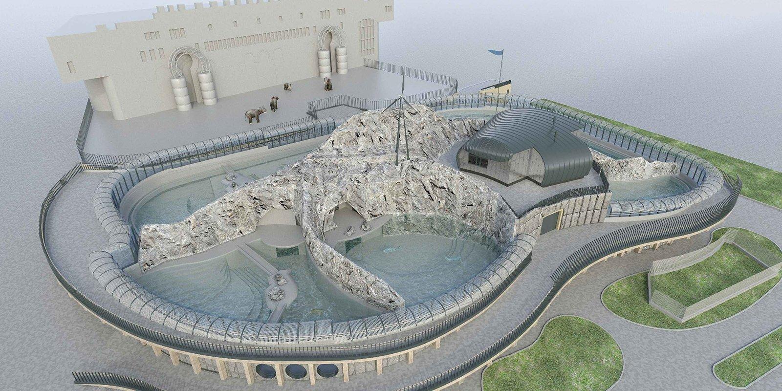 Комплекс «Домик зоолога» достраивается в столичном зоопарке