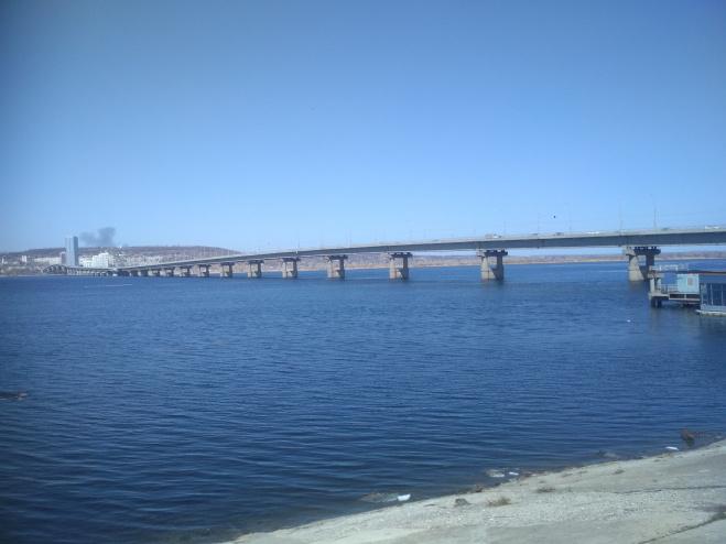 Мост Саратов — Энгельс отремонтировали на 70%