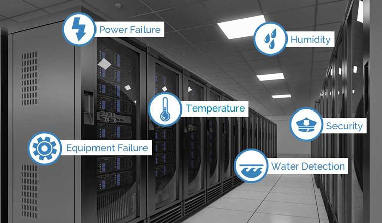Data Center Environment Monitoring System  Sensaphone