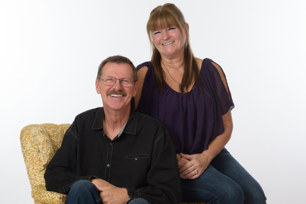 Couple with great smiles