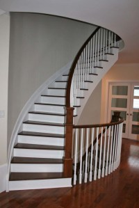 Custom Wood Stairs and Handrails in Kingston, Ontario