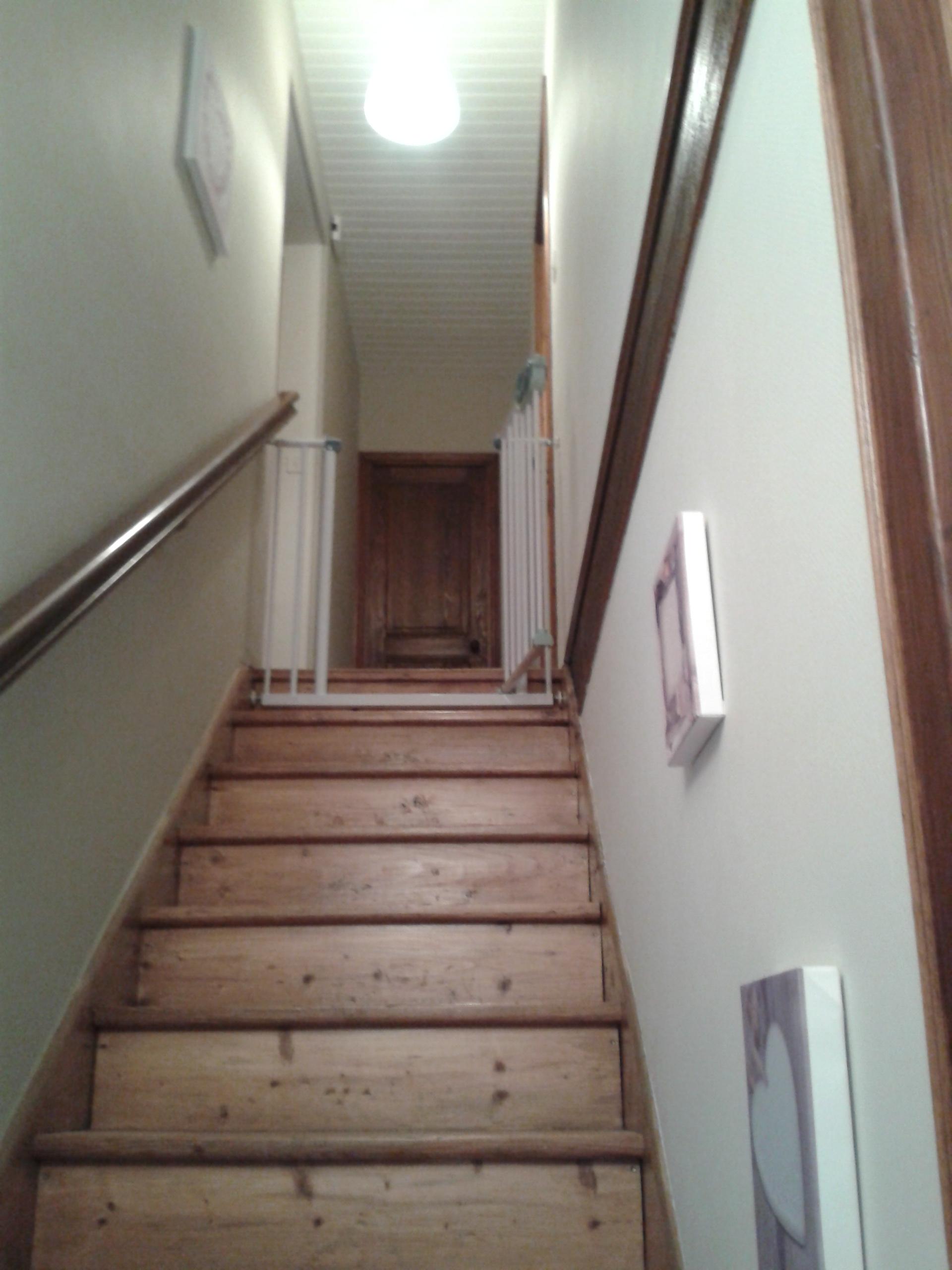 Dcoration intrieur dun escalier et son dgagement  Sensations Dco