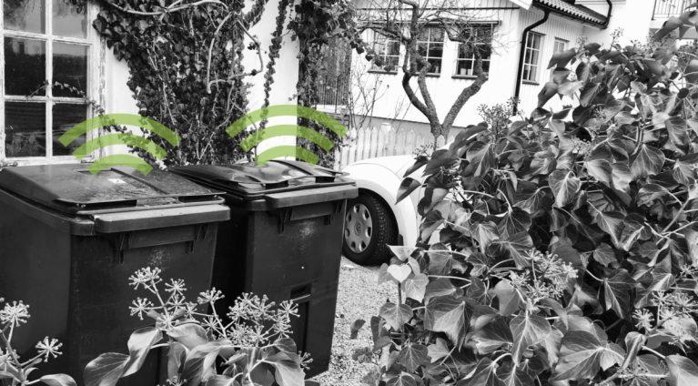 Bintel waste sensors sensorer för sopkärl e1523280529620