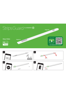 Strips guard illustration manual