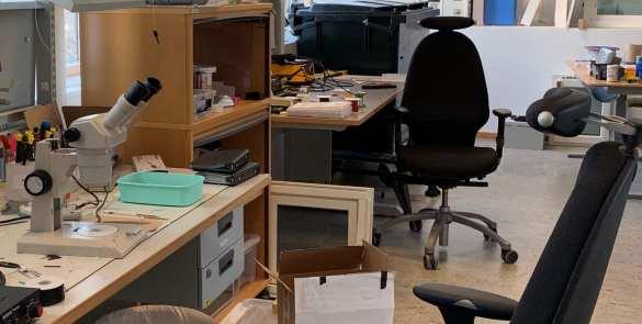 Sensative's IoT development lab