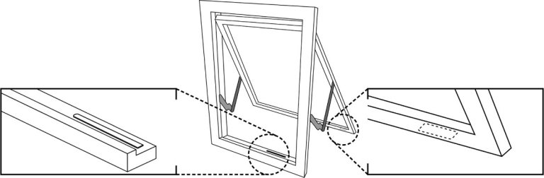 Sensative strips guard sensor and magnet placement in a window 