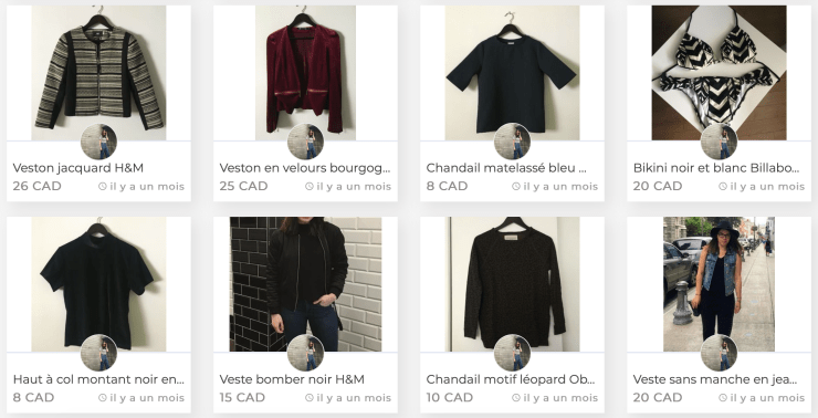 vetements seconde main bon magasinage