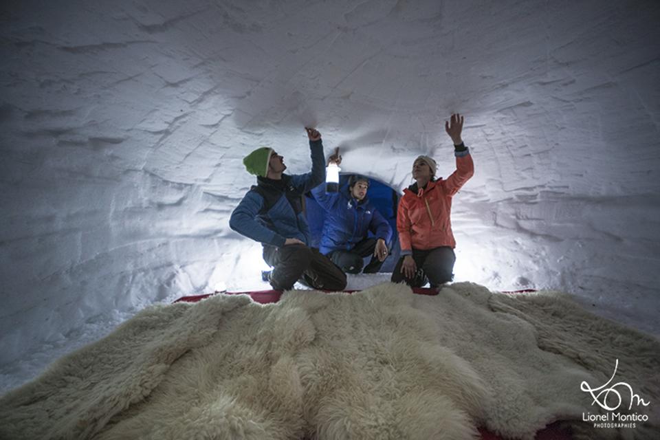 dormir en igloo