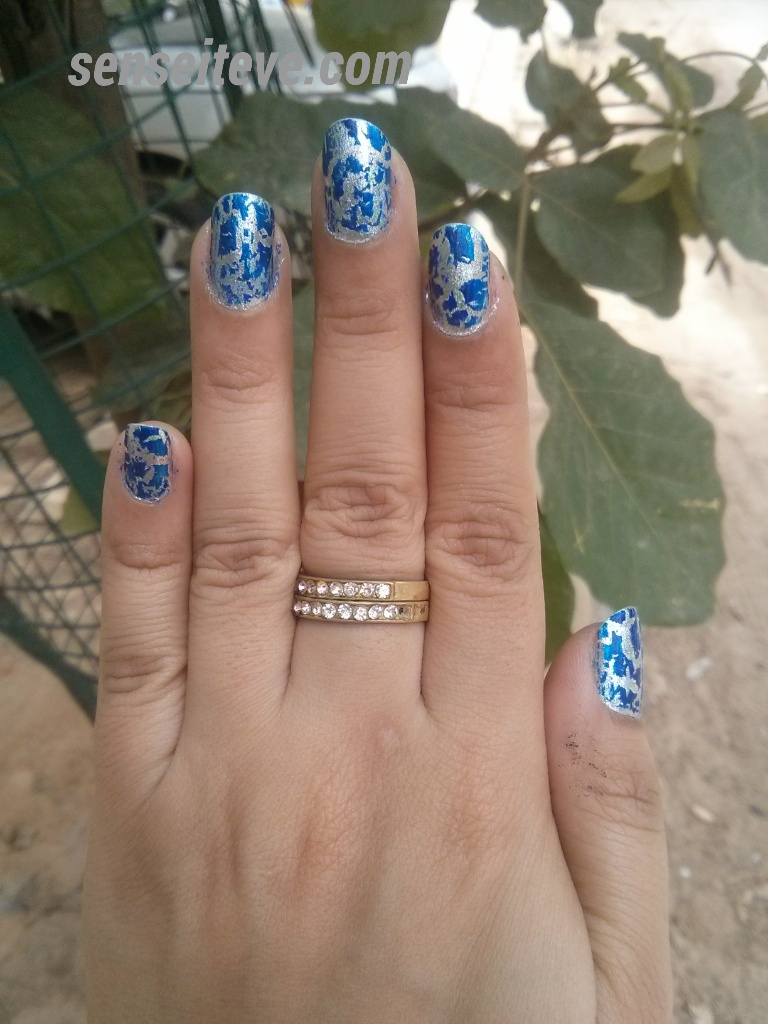 Oriflame Graffiti Nailpaint Base Coat Silver Review & Swatches