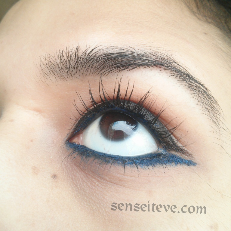 Double-Ended Eyeliner Look EOTD 1