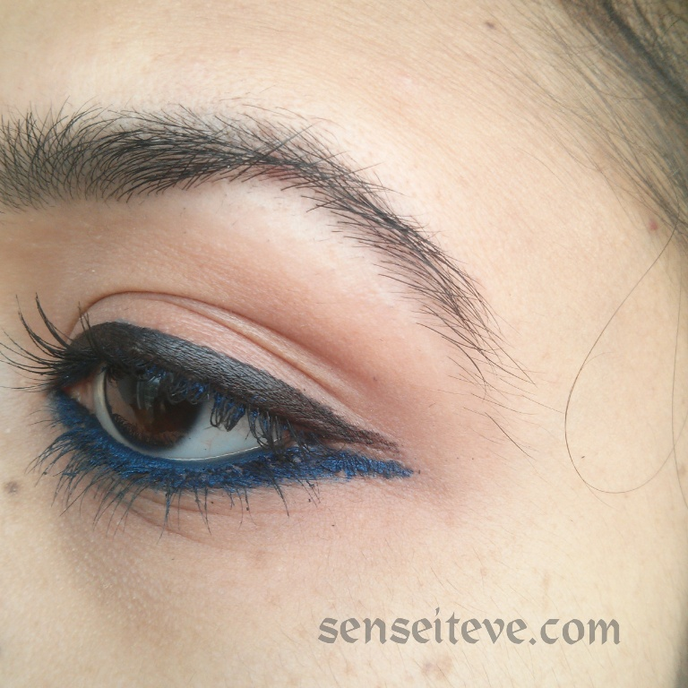 Double-Ended Eyeliner Look EOTD 2