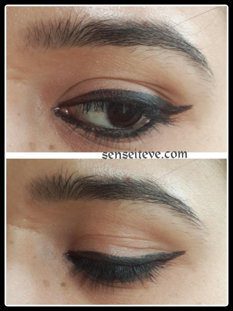 Oriflame Beauty Studio Artist Gel Eye Liner Swatches EOTD