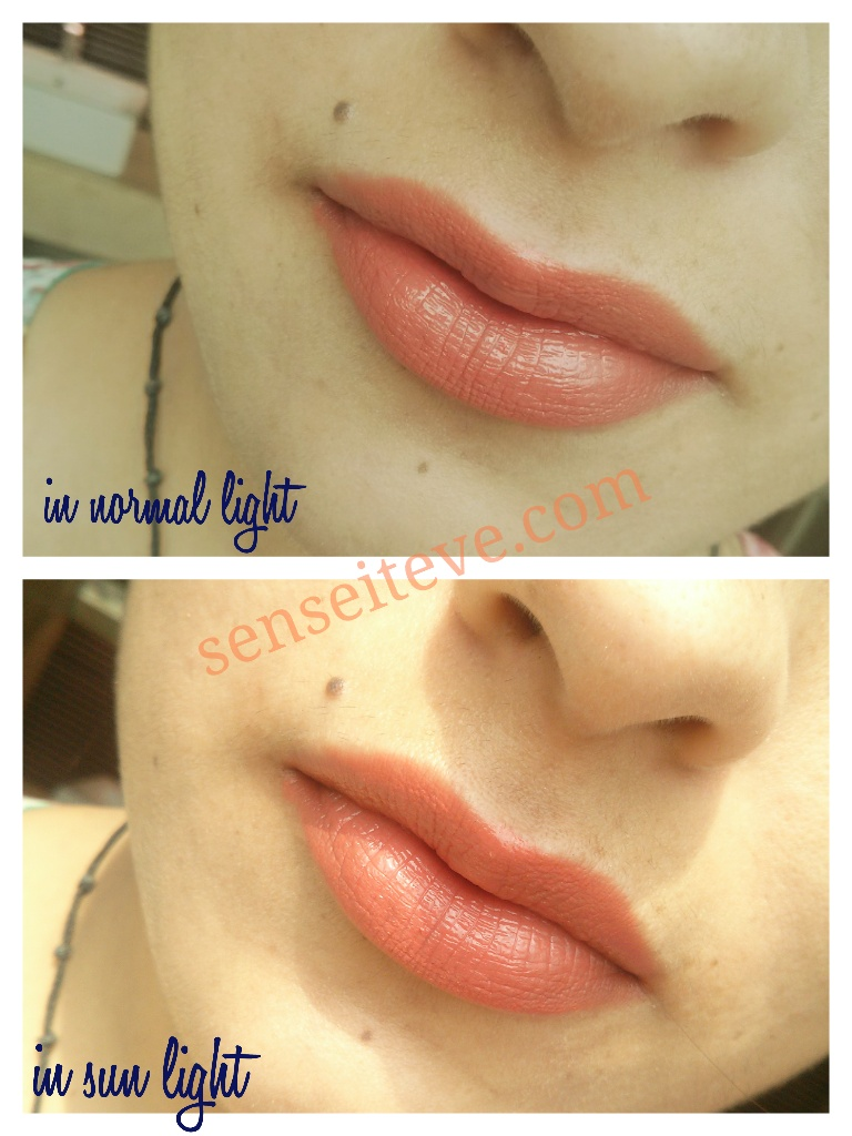 Maybelline Color Sensational Moisture Extreme Lipstick Bronze Orange LOTD