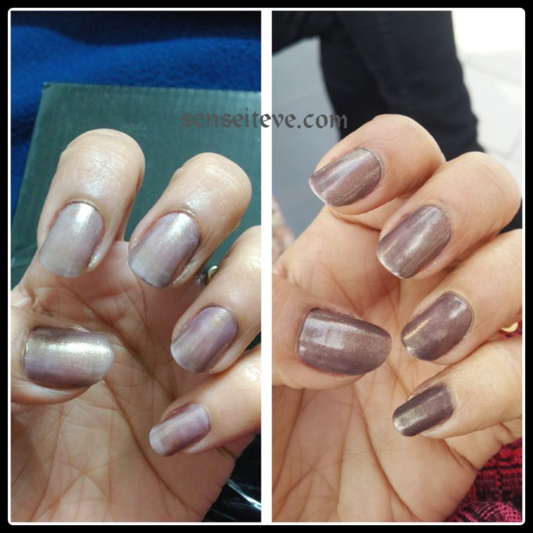 Maybelline Colorshow Nailpaint Burried Treasure Swatches