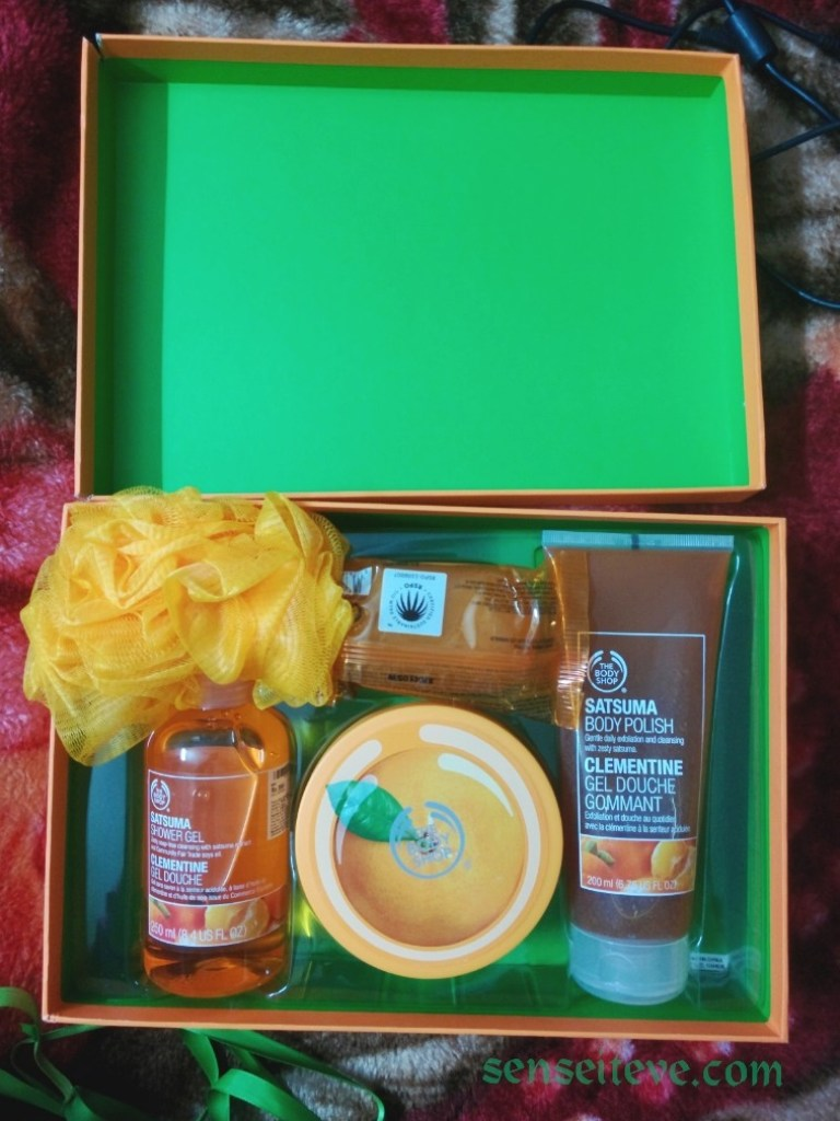 The Body Shop Satsuma Box All in One