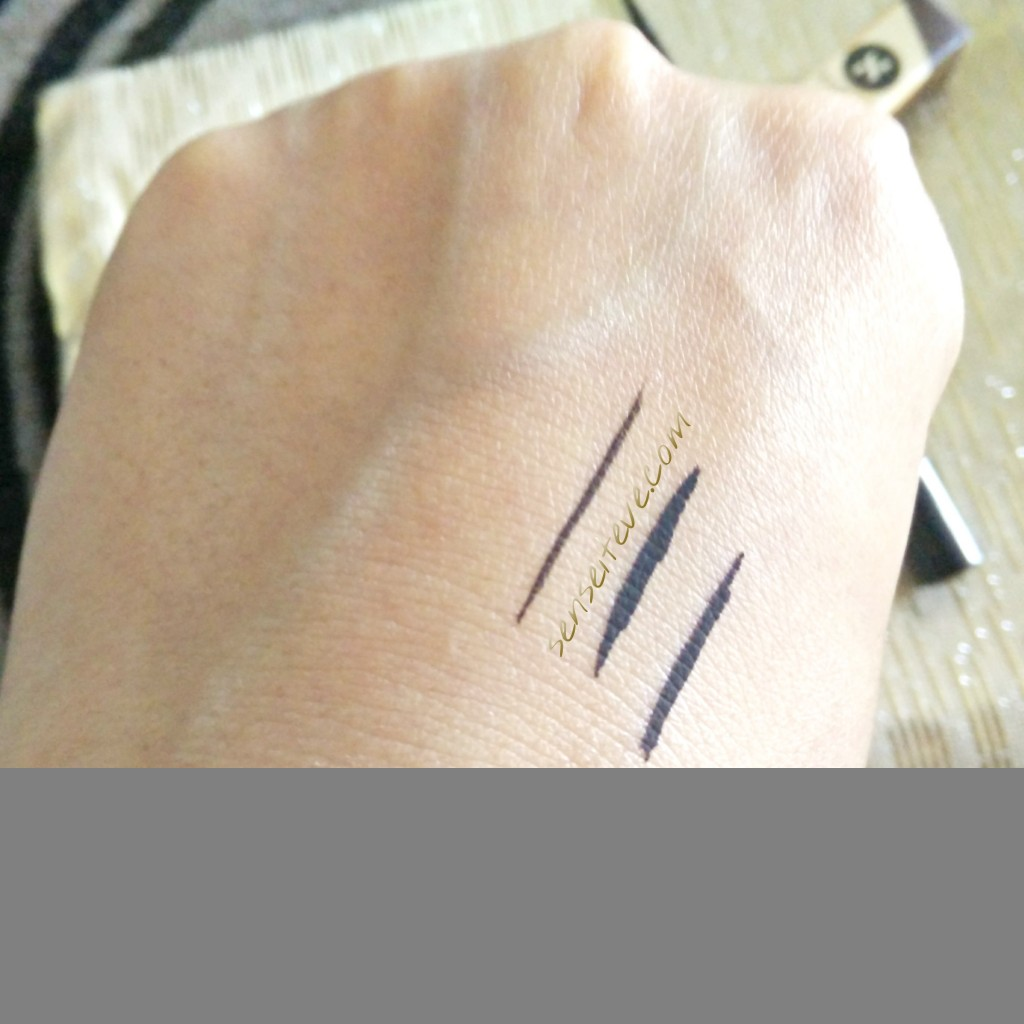 In my Fabbag july2015- sugar eye told you so eyeliner swatches