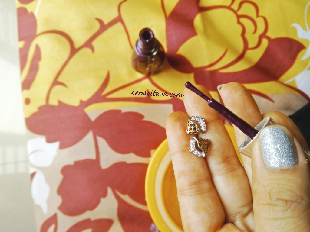 DIY Give your Dull Earrings a Makeover_Step 1