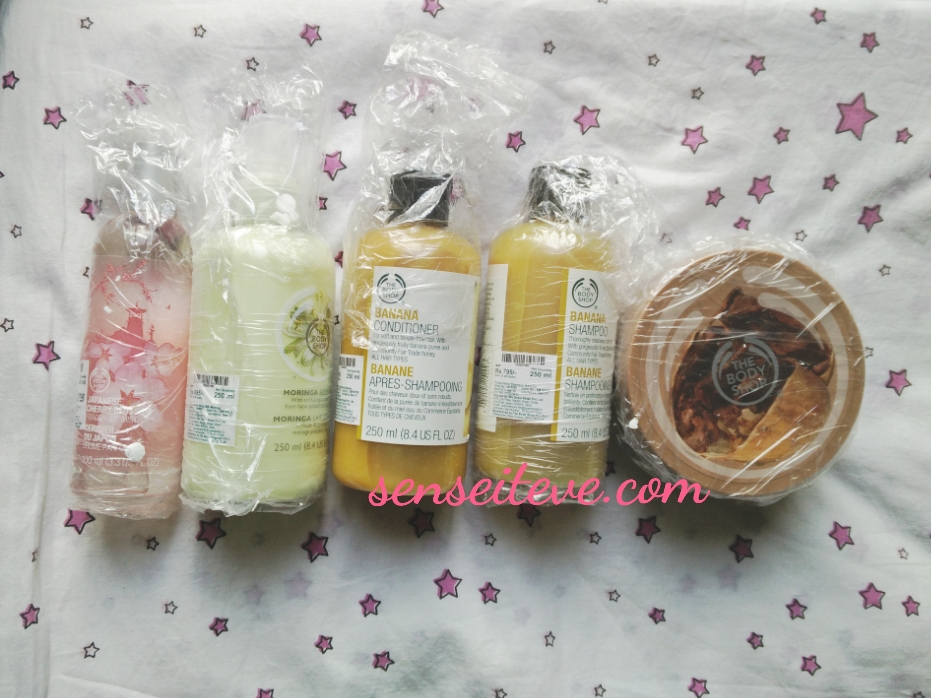 TBS Online Sale Shopping Haul Products Packaging