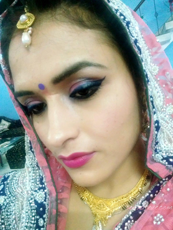 My Diwali 2015 Celebration Ootd_Makeup
