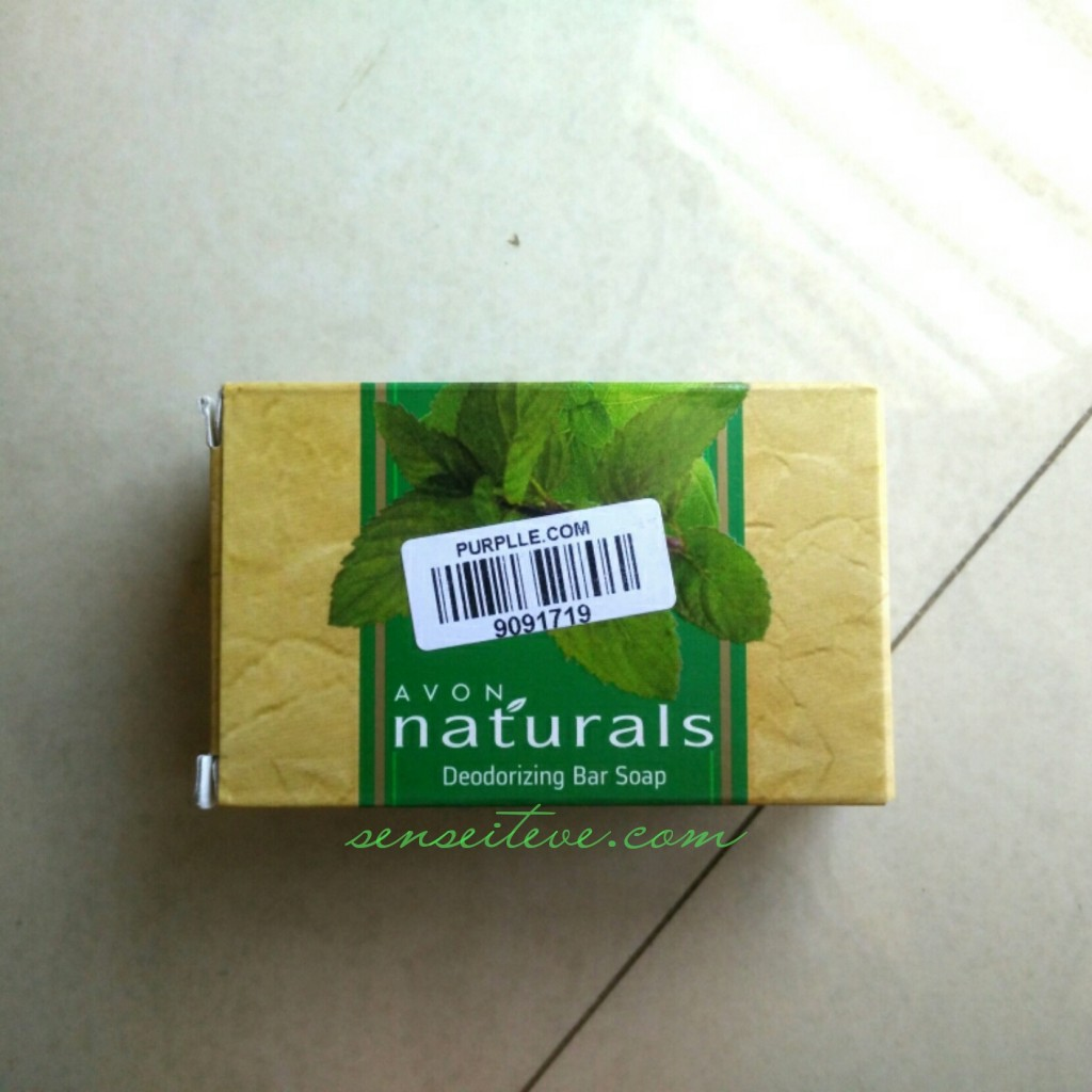 Avon Natural's Deodorizing Bar Soap