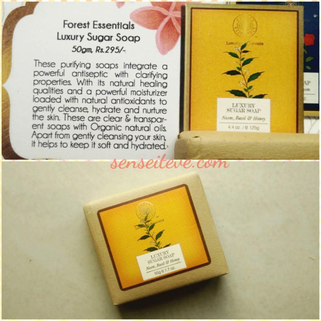 My Envy Box Feb16_Forest Essentials Luxury Sugar Soap