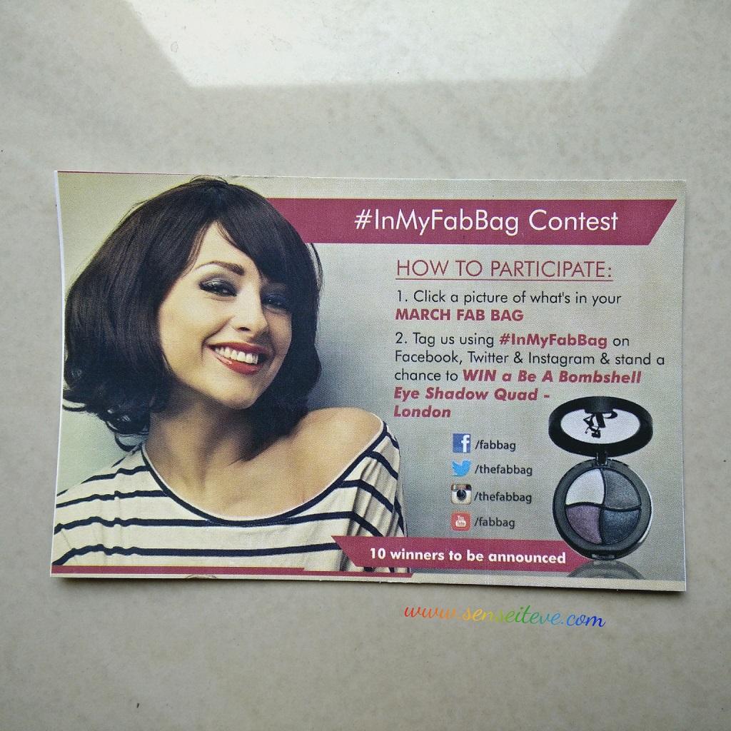 #InMyFabbag Contest