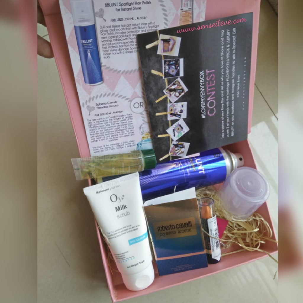 My Envy Box April 2016 Review and Unboxing Video