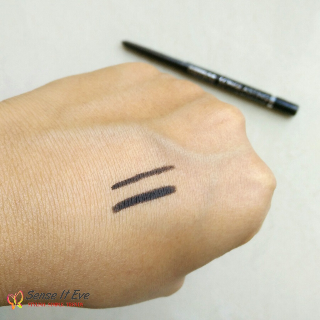 Catrice LongLasting Eye Pencil Waterproof 010 New Kids on the Black Swatch