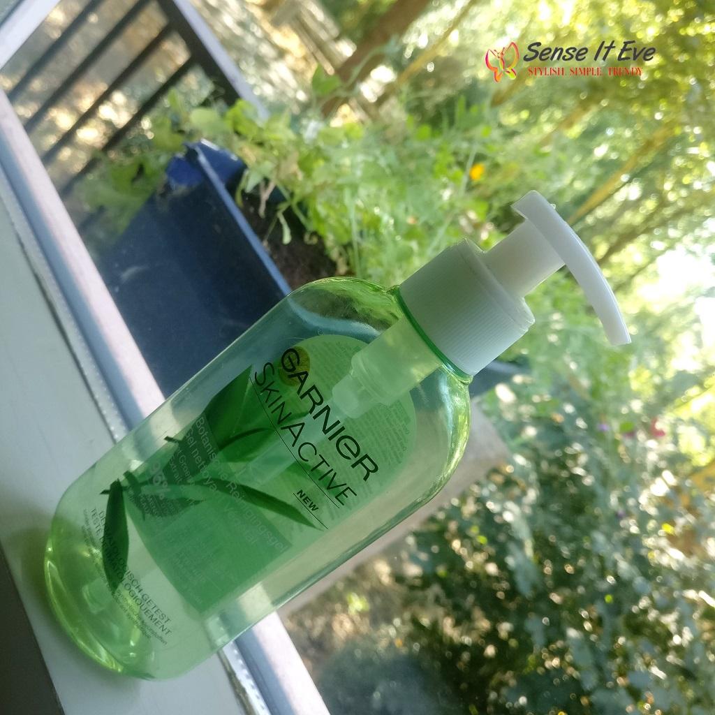 Garnier Skinactive Purifying Botanical Gel Wash With Green Tea Leaves Review