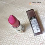 Maybelline New York Color Sensational Creamy Matte Lipstick Mesmerizing Magenta : Review & Swatches