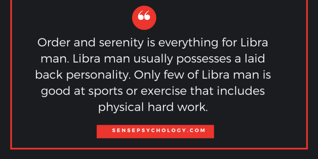 Libra man in bed
