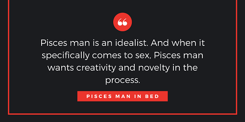 Sex with a pisces man