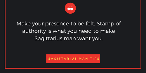 Tips on dating a sagittarius man