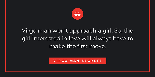 How to know if virgo man is interested