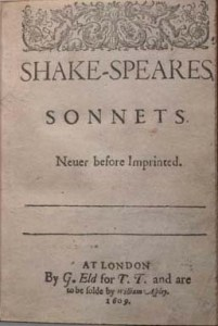 1609Sonnet-TitlePage