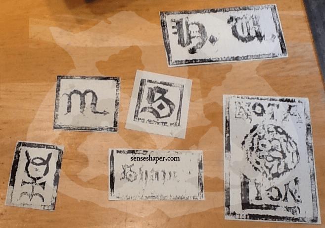 SenseShaper-Woodcuts-First Cuts-First Prints