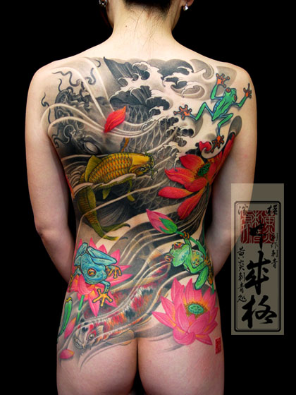 Japanese Tattoo On Body Tattoos For Girls