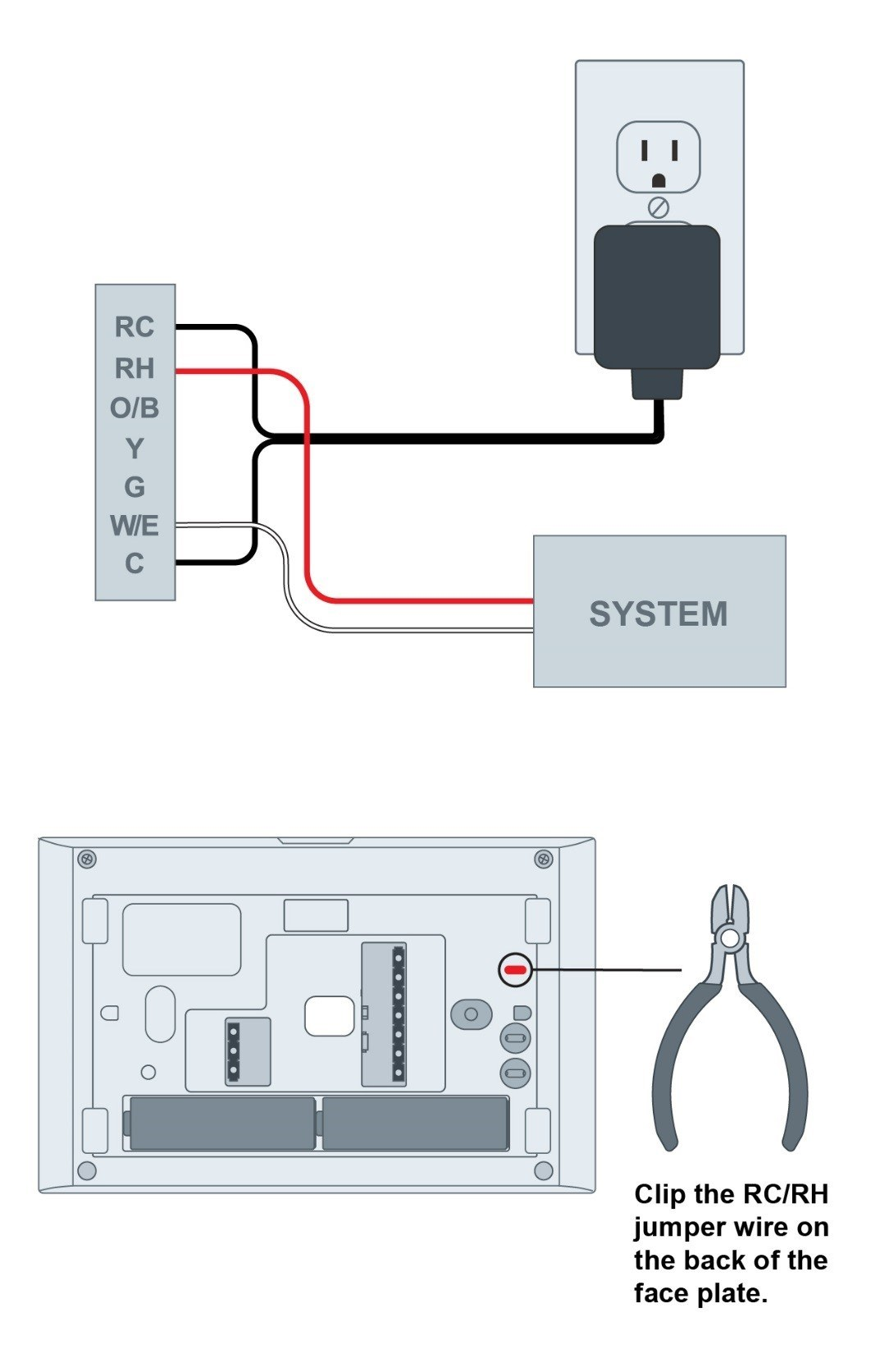110v Plug Wiring Diagram For Ac Troubleshooting Adding 24 Vac External Transformer In