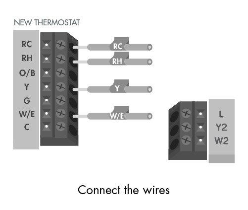 Emerson Thermostat Wiring Color Diagram